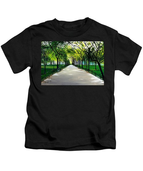 My Poet's Walk Kids T-Shirt