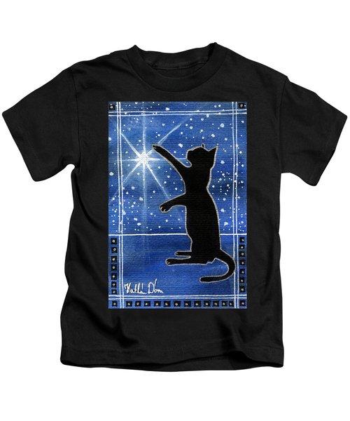 My Shinning Star - Christmas Cat Kids T-Shirt