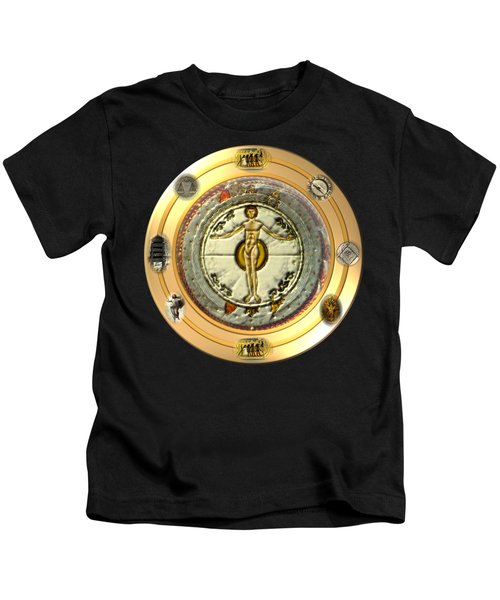 Mysteries Of The Ancient World By Pierre Blanchard Kids T-Shirt by Pierre Blanchard