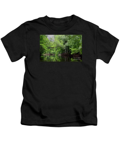 Mystical Withlacoochee River Kids T-Shirt