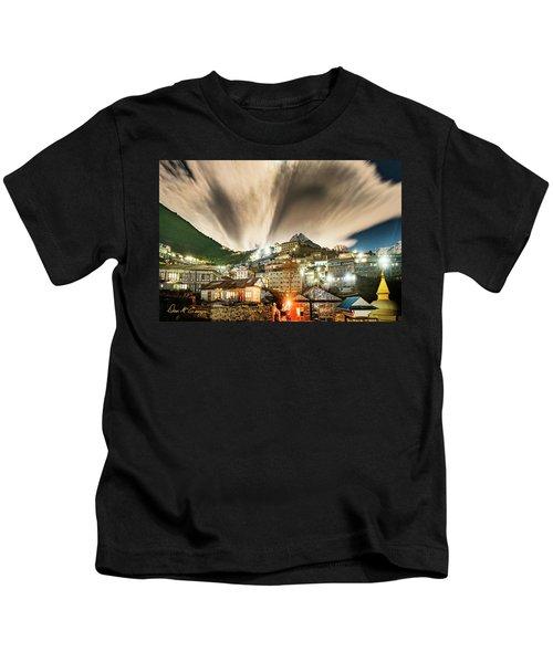 Namche Night Kids T-Shirt
