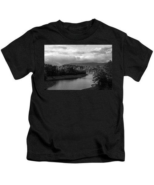 Nantahala River Blue Ridge Mountains Kids T-Shirt