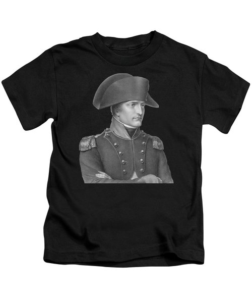 Napoleon Bonaparte In Uniform  Kids T-Shirt