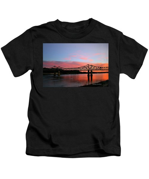 Natchez Sunset Kids T-Shirt