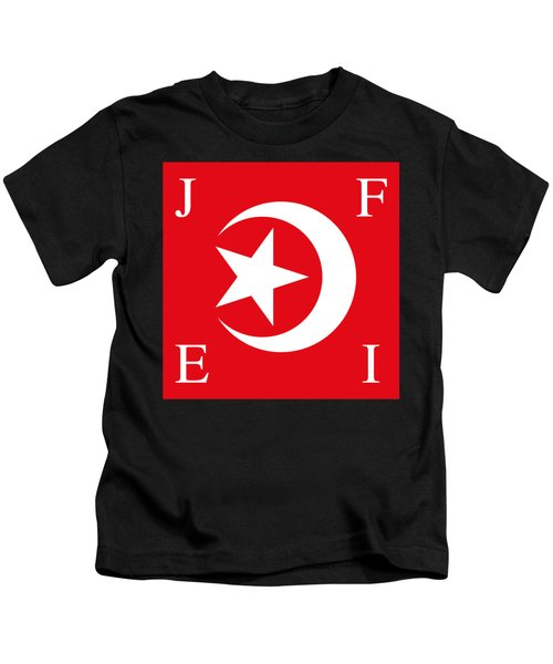 Nation Of Islam Flag Kids T-Shirt