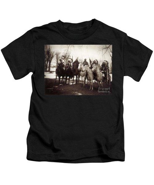 Native American Chiefs Kids T-Shirt