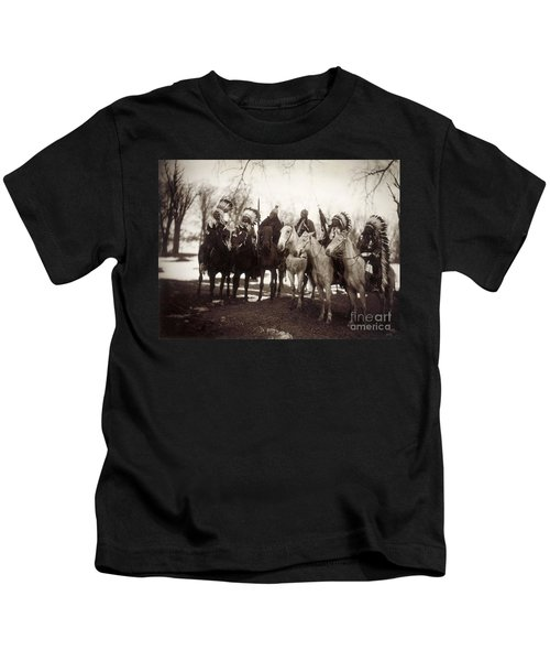 Native American Chiefs Kids T-Shirt