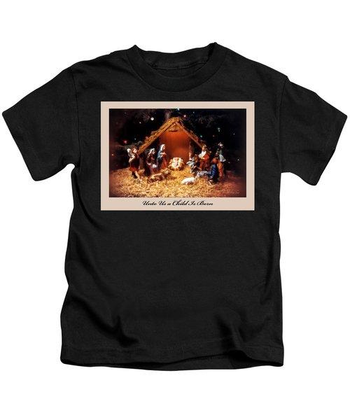 Nativity Scene Greeting Card Kids T-Shirt