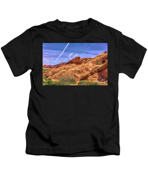 Natural Arch Valley Of Fire  Kids T-Shirt