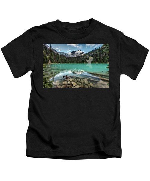 Natural Beauty Of British Columbia Kids T-Shirt
