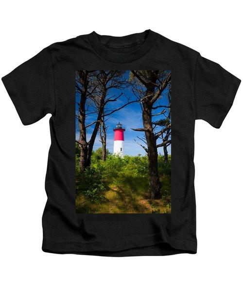Nauset Lighthouse Kids T-Shirt
