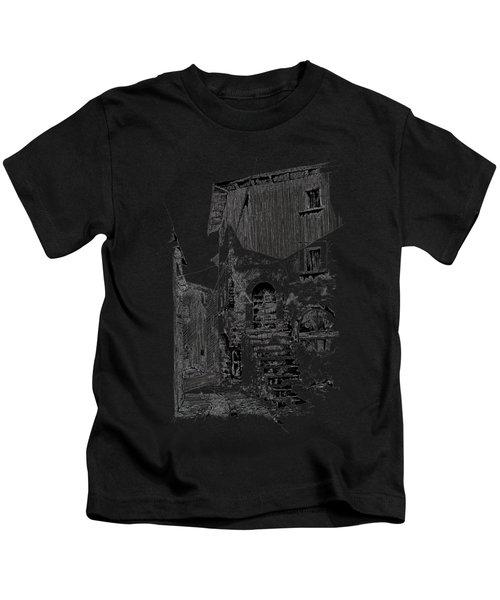 Navelli Dip Pen Sketch  Kids T-Shirt