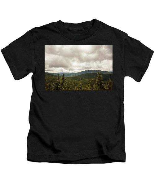 Near Monarch Pass At The Continental Divide Kids T-Shirt