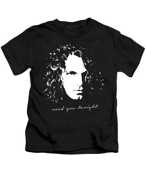 Need You Tonight Pop Art Kids T-Shirt