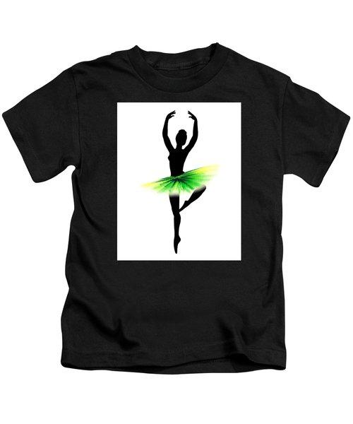 Neon Green Tutu Kids T-Shirt