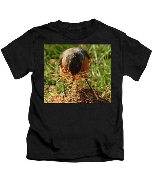 Nest Building Kids T-Shirt