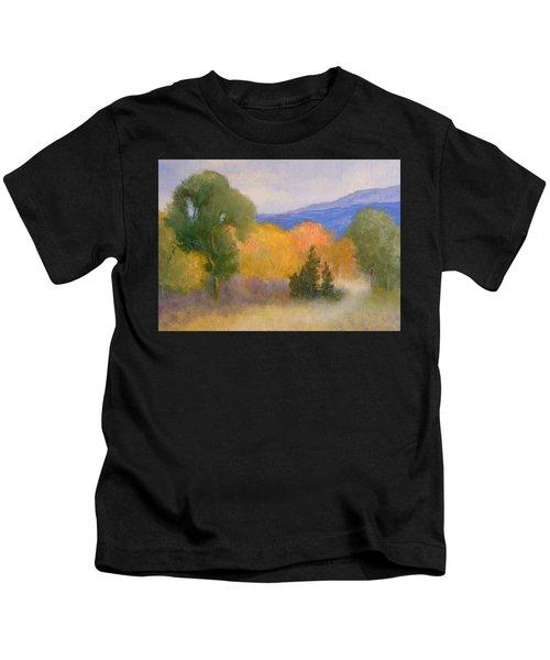 New England Fall Kids T-Shirt