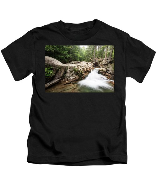 New England Waterfall Kids T-Shirt