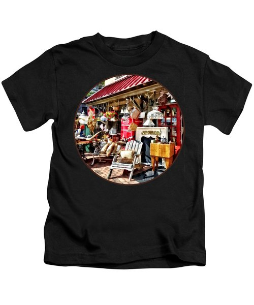 New Hope Pa Antique Shop Kids T-Shirt