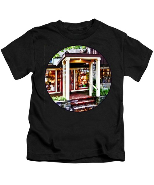 New Hope Pa - Craft Shop Kids T-Shirt