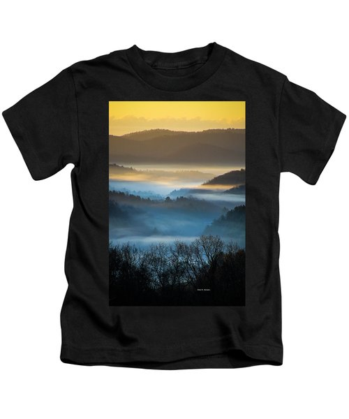 New River Fog Kids T-Shirt