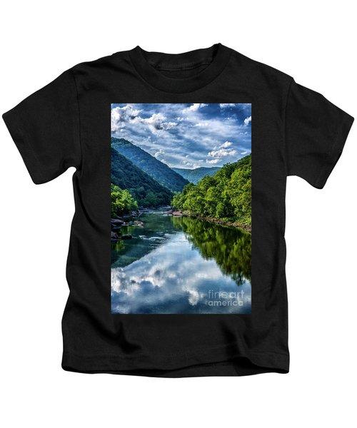 New River Gorge National River 3 Kids T-Shirt