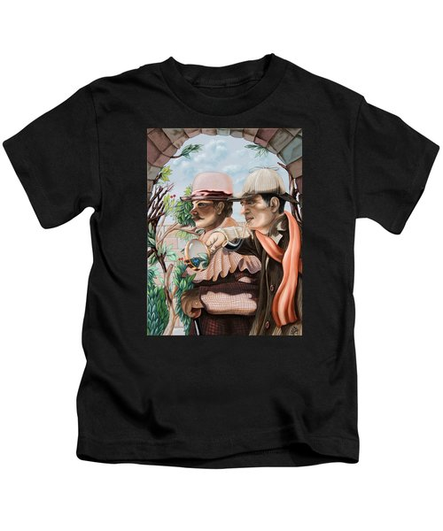 New Story By Sir Arthur Conan Doyle About Sherlock Holmes Kids T-Shirt