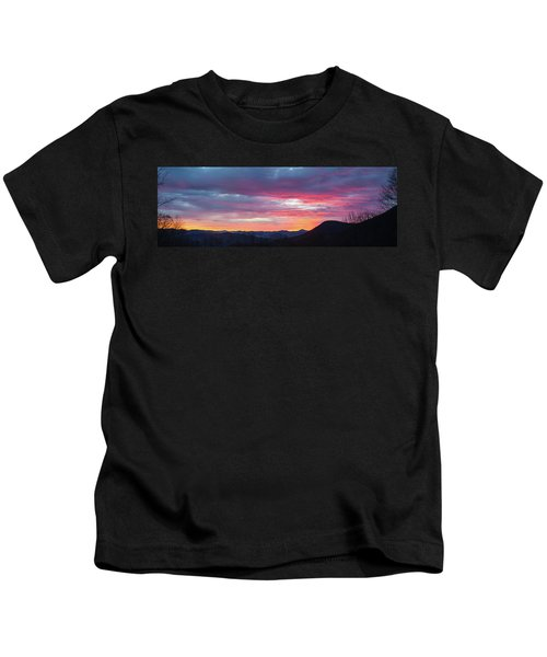 New Year Dawn - 2016 December 31 Kids T-Shirt