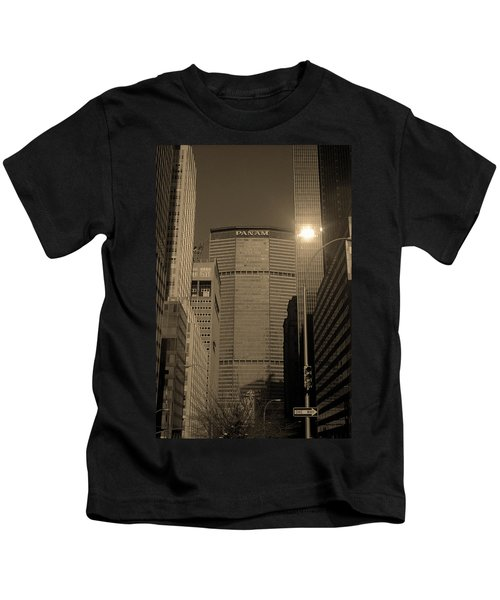 New York City 1982 Sepia Series - #7 Kids T-Shirt