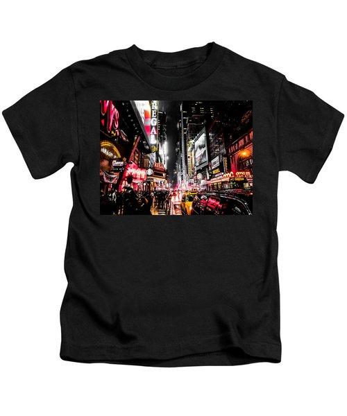 New York City Night II Kids T-Shirt
