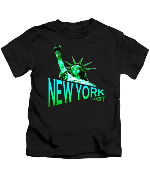 New York Liberty Design Kids T-Shirt