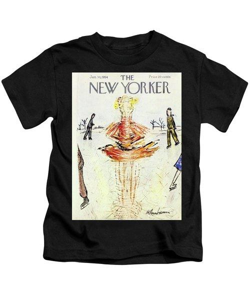 New Yorker January 30 1954 Kids T-Shirt