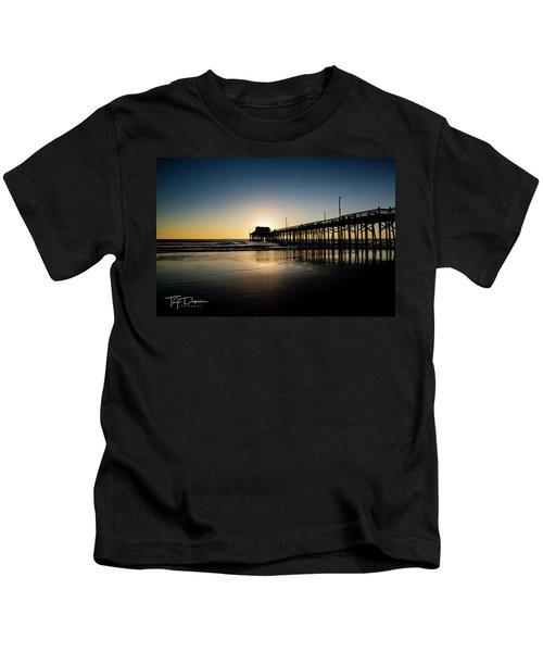 Newport Pier Kids T-Shirt