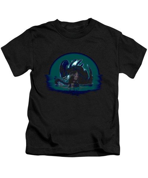 Newt In Danger Kids T-Shirt