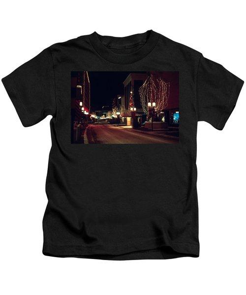 Nicollet Mall Christmas Kids T-Shirt