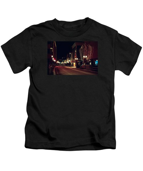 Nicollet Mall Christmas Kids T-Shirt