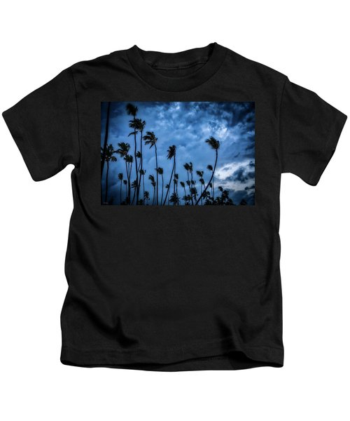 Night Beach Kids T-Shirt