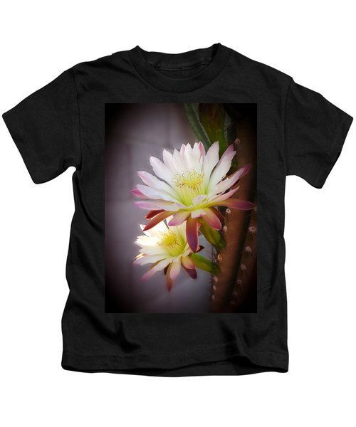 Night Blooming Cereus Kids T-Shirt