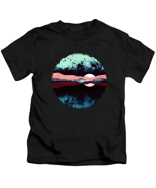 Night Sky Reflection Kids T-Shirt