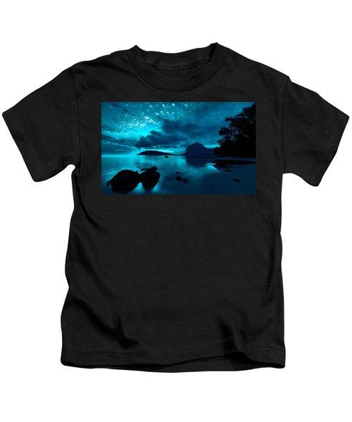 Nightfall Near Le Morne Kids T-Shirt