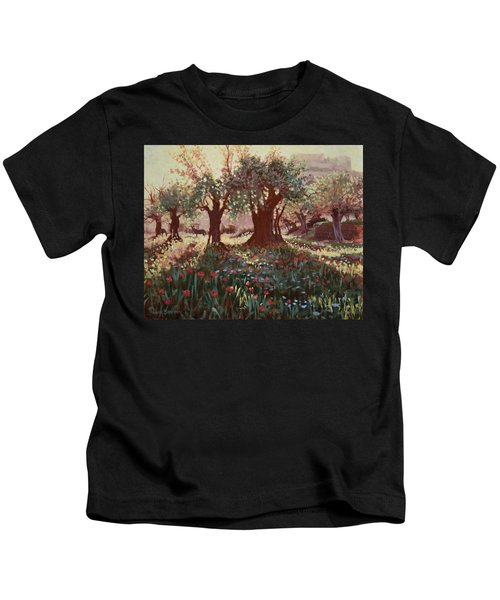Nimrods Castle, Northern Galilee, Israel Kids T-Shirt