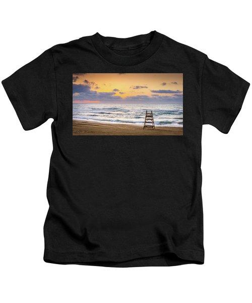 No Lifeguard On Duty. Kids T-Shirt