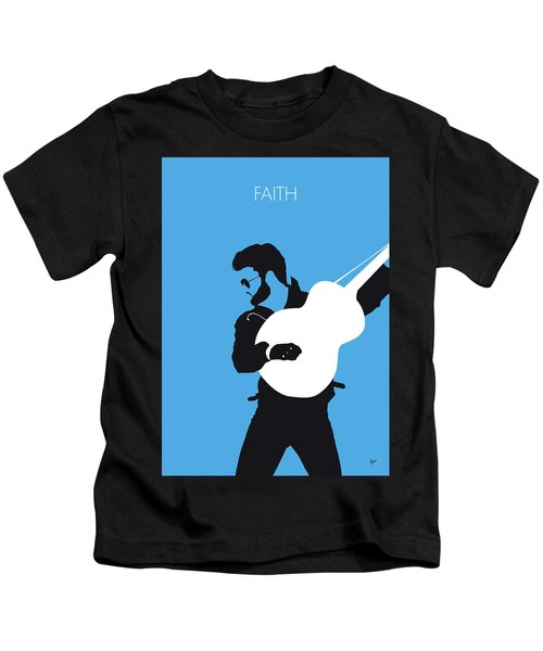 No089 My George Michael Minimal Music Poster Kids T-Shirt
