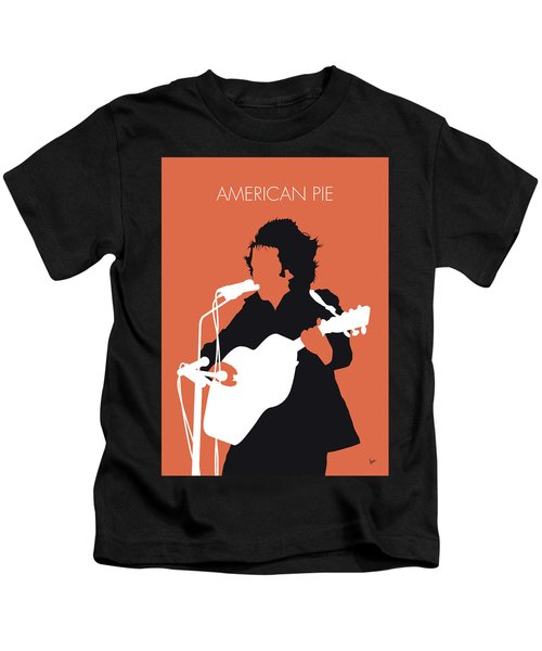 No143 My Don Mclean Minimal Music Poster Kids T-Shirt