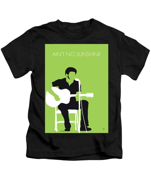 No156 My Bill Withers Minimal Music Poster Kids T-Shirt