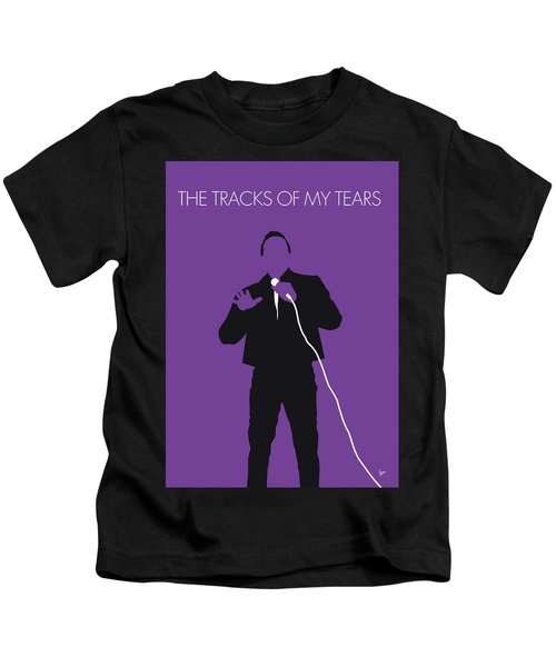 No161 My Smokey Robinson Minimal Music Poster Kids T-Shirt