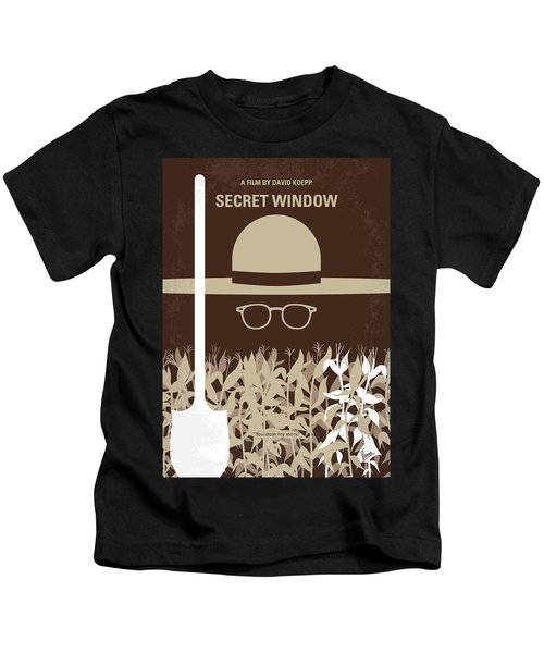 No830 My Secret Window Minimal Movie Poster Kids T-Shirt