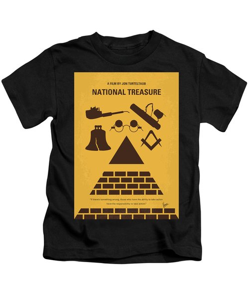 No887 My National Treasure Minimal Movie Poster Kids T-Shirt