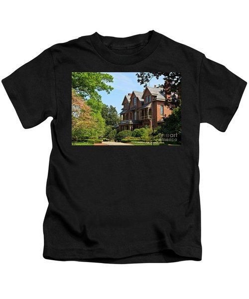 North Carolina Executive Mansion Kids T-Shirt