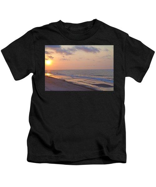 North Topsail Beach Glory Kids T-Shirt